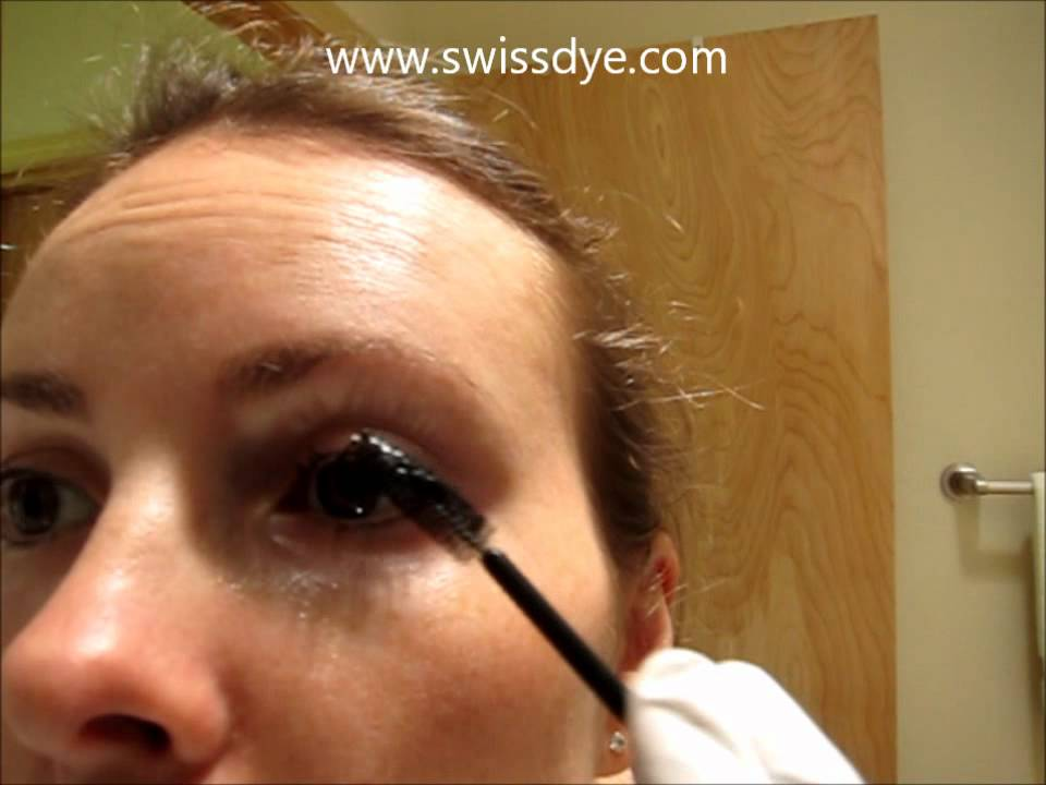 Tinting Dyeing Your Lashes Brows At Home Swiss O Par Diy Kit