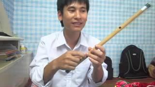 Hướng dẫn thổi sáo: Hương tóc mạ non -cover Quang Lê