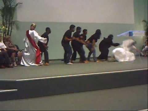 Ministério Águia Teatro Cristão Peça: O Resgate da Noiva no Templo Central