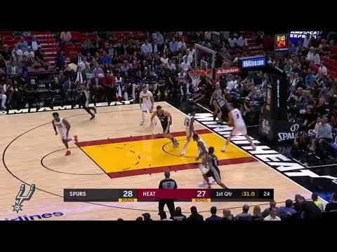 Manu Ginobili highlights | Spurs vs Heat (October 25, 2017)
