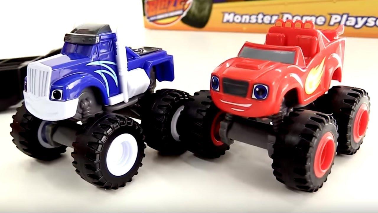 Blaze e le mega macchine costruiamo una nuova pista for Blaze e le mega macchine youtube