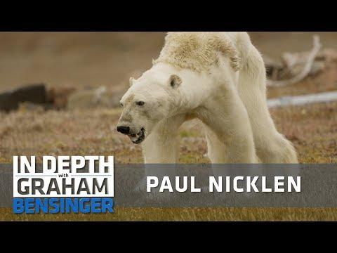 Paul Nicklen: Watching a dying polar bear