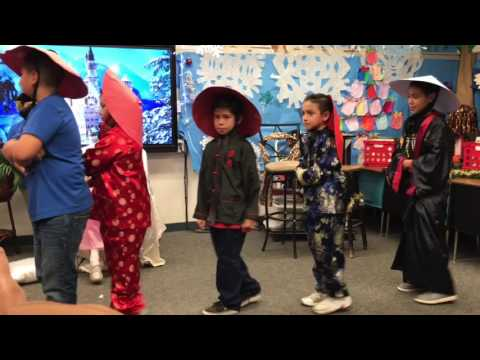 The Nutcracker play 2016  Part2 at Elwin Elementary School