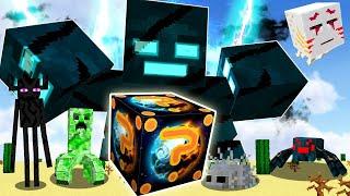 Lucky Block Sao Hỏa Vs Siêu Quái Vật ?Thử Thách Minecraft
