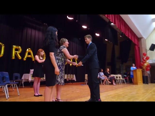Best Clip Middle School Graduationl Aurora 2017/جشن پایان تحصیلی در کانادا