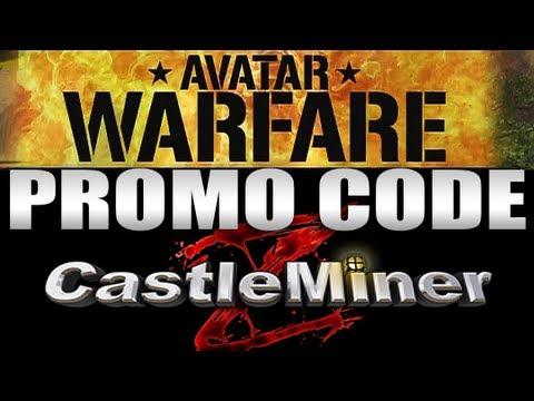 Avatar Warfare Castleminer Z Promo Code Start With Rpg Youtube