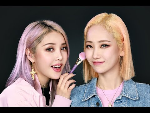 Pony X Ha:tfelt Soft Burgundy Makeup With Subs 포니 X 핫펠트