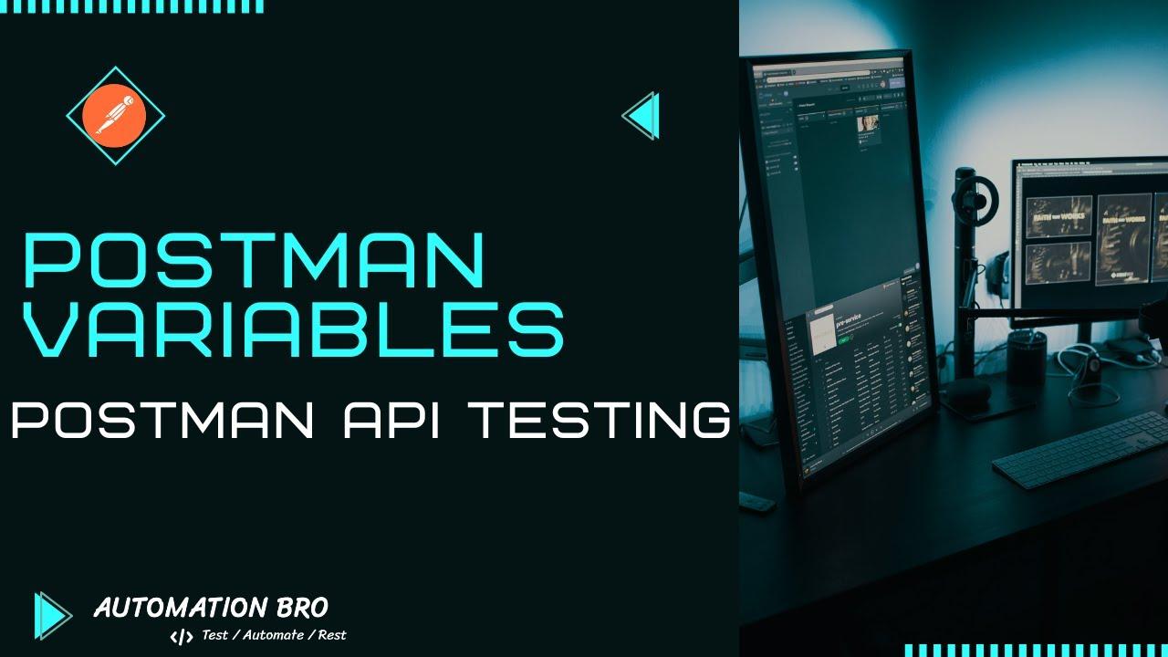 Postman Variables   Postman API Testing