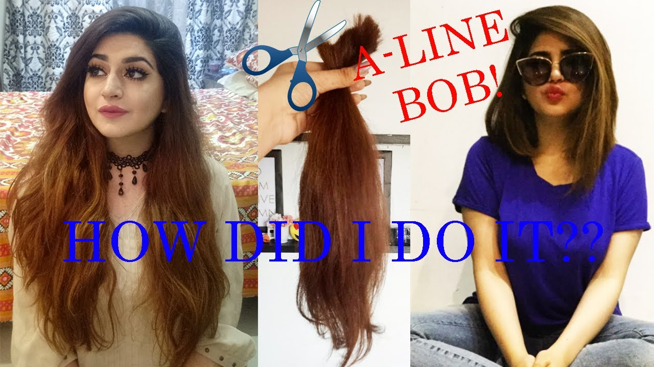 I chopped my hair diy how to cut an asymmetrical a line bob i chopped my hair diy how to cut an asymmetrical a line bob glossips solutioingenieria Gallery
