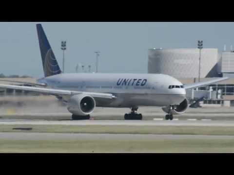 United Airlines 777-200 showdown Pratt & Whitney VS GE