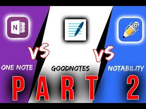 Notability vs OneNote vs GoodNotes | iPad Pro [Teil 2]