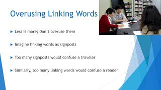 Reading and Writing Skills - Overusing Linking Words - 04