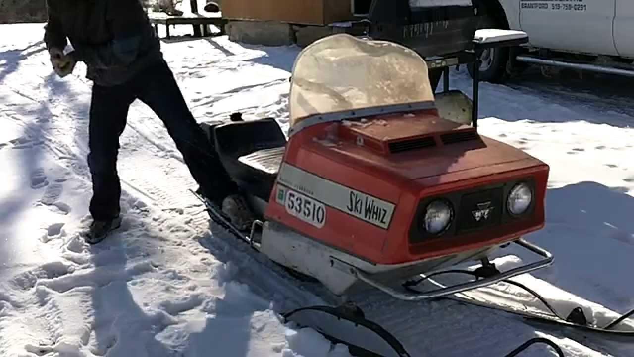 Ski whiz snowmobiles for sale - Ski Whiz Snowmobiles For Sale 3
