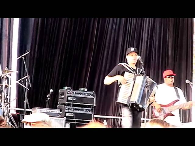 Andre Thierry and Zydeco Magic @ 2013 Simi Valley Cajun & Blues Music Festival