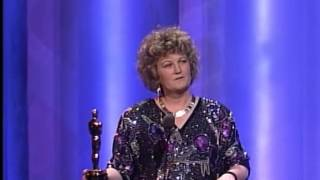 Brenda Fricker Wins Supporting Actress: 1990 Oscars