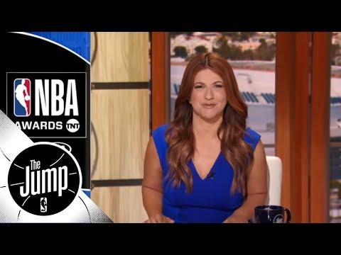 Rachel Nichols recaps the NBA Awards' best and most awkard moments | The Jump | ESPN