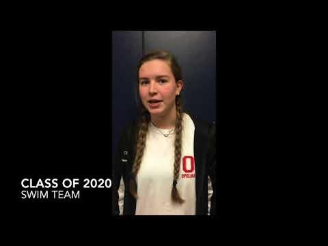 Julia Bush Class of 2020 Opelika High School