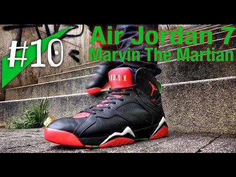 e7446ee6fa5d1b REAL REVIEW Jordan  10 - Nike Air Jordan 7 `Marvin The Martian` - on feet -  .
