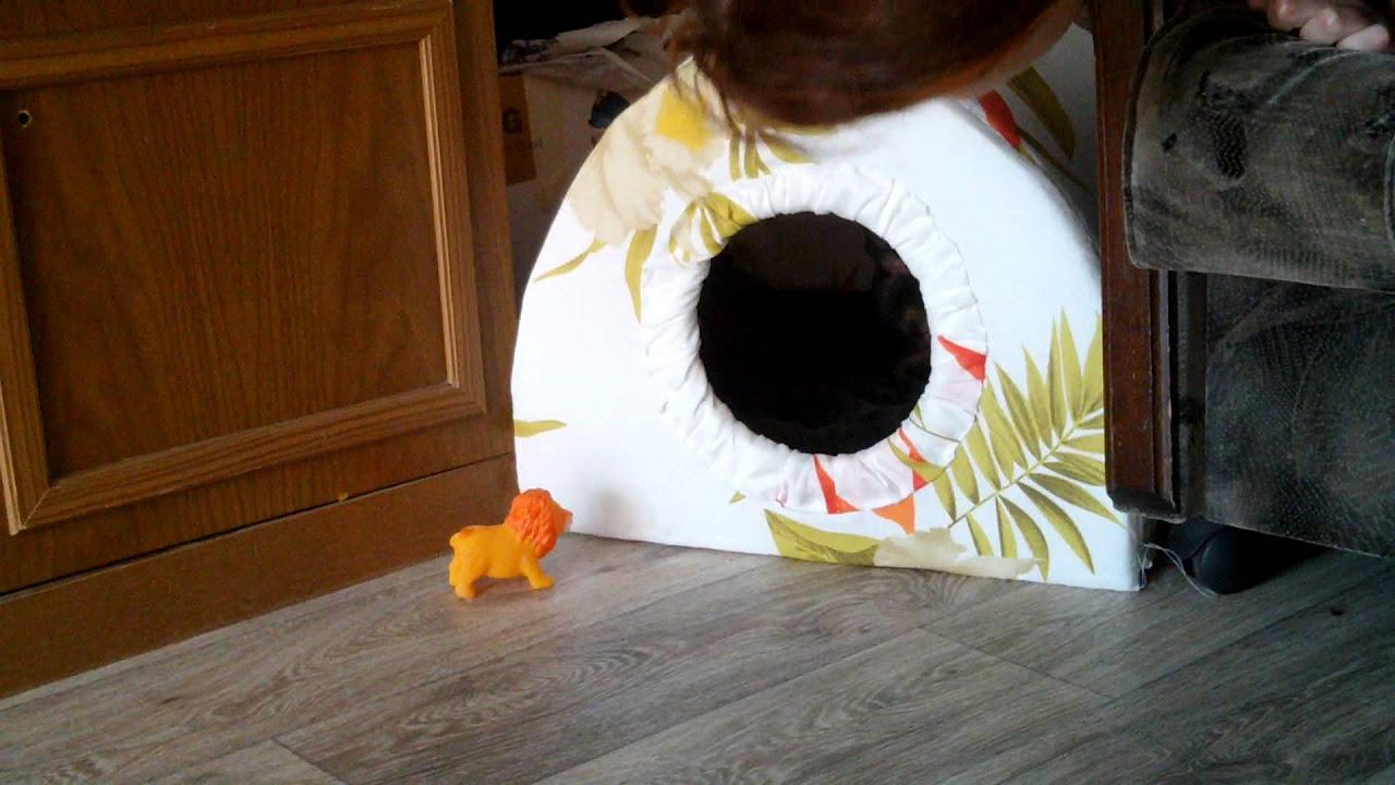 мешок лежанка для кошек выкройки