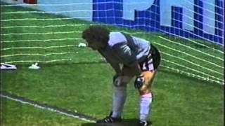 Brazil vs France 1986 World Cup quarterfinal  - Zico Penalty Miss | Video