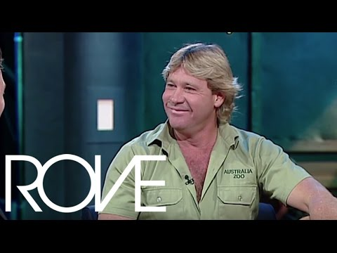 Steve Irwin Teaches Rove How To Take Down A Croc | Interviews (2002) | ROVE