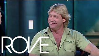 Steve Irwin Teaches Rove How To Take Down A Croc | Interviews (2002) | ROVE