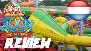 Review Zwembad: Aqua Mexicana Attractiepark Slagharen, Nederland (Nederlands)