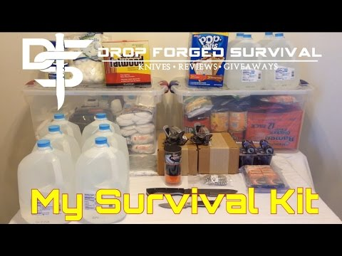 My Survival Kit - Top 10 SHTF Preps