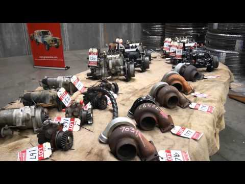 January 2016 Ex-Military Vehicle, Parts And Industrial Machinery Auction