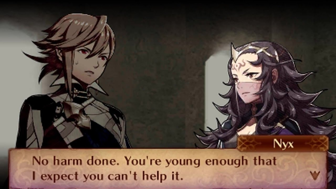 fire emblem fates conquest male avatar my unit nyx support