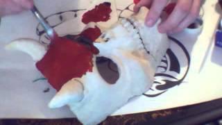 как сделать маску своими руками,Выпуск №12(маска демона,доработка ,покраска)(, 2015-12-24T15:28:38.000Z)