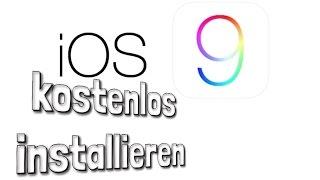 iOS 9 kostenlos ohne UDID installieren Anleitung / Tutorial