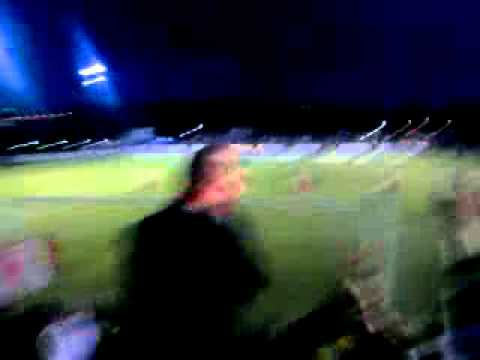 Stanley Ultras Vs Oldham, FA Cup 2010-2011