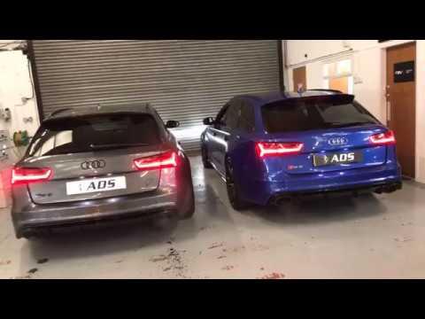 Akrapovic vs Milltek C7 RS6