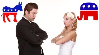 Americans Unwilling To Marry Outside Their Politics