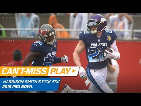 Harrison Smith's 79-Yd Pick Six Off Ben Roethlisberger! | Can