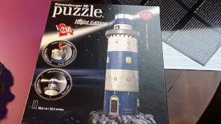 "Puzzle 3d night edition ""le phare"" part. 1 !!!! ✌✌"