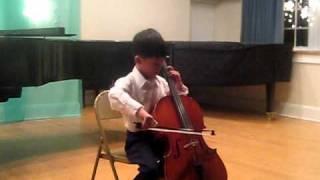 Didi Playing Seitz Concerto No 5, 1st Movement