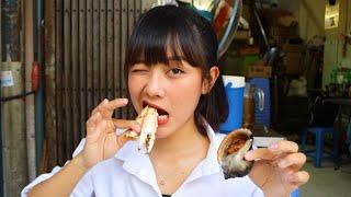 베트남 동생의 가성비 쩌는 길거리 대왕조개 해산물 먹방…