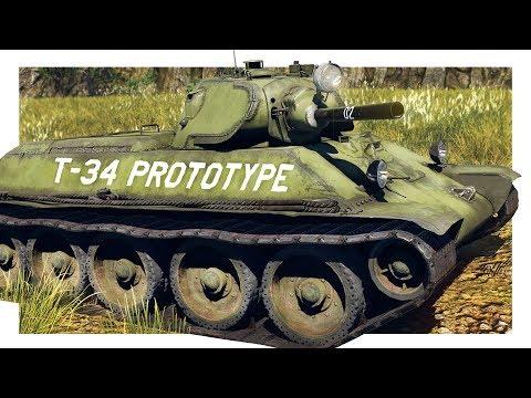 WT: T-34 prototype- A little different