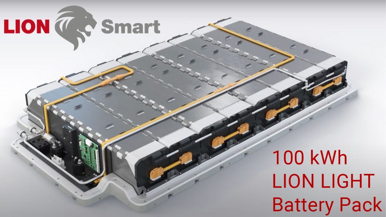 Bmw I3 100 Kwh Lion Light Battery Pack Extended Version