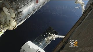 SpaceX Cargo Ship Docks With ISS