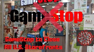 Gamestop  $gme   Able To Recover ?!?  Close All U S  Storefronts  Idea For Options Trade This Week