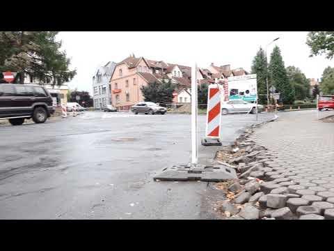 Sygnalizacja świetlna i remont drogi