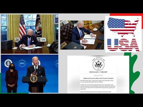 WORLD NEWS 29TH JAN 21- US Prez Biden signs 4 executive orders promoting racial equity