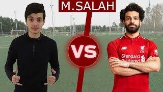 قلدت أفضل أهداف محمد صلاح!! | Challenge VS Mo Salah
