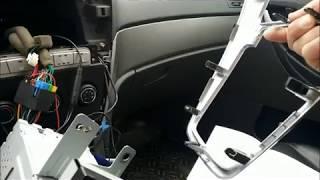 Geely Emgrand X7 Камера заднего вида Установка