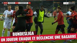 VIDEO: Bundesliga : Il craque complètement et bouscule le coach adverse