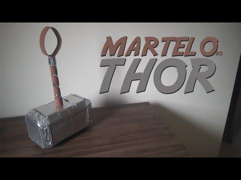 DIY-Como fazer o martelo do Thor(Mjolnir)