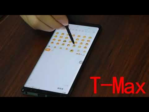 TMAX Samsung  Note 8 Tempered Glass Touch  Sensitivity Test